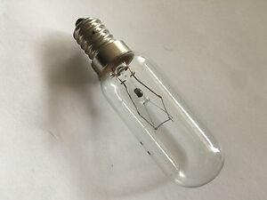 40W Fridge Refrigerator Rangehood Long Oven Bulb Globe Lamp E14 SES Screw Base