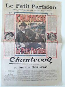 Journal-LE-PETIT-PARISIEN-1916-Chantecoq