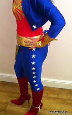 wonder woman LEGGINGS  for your corset costume