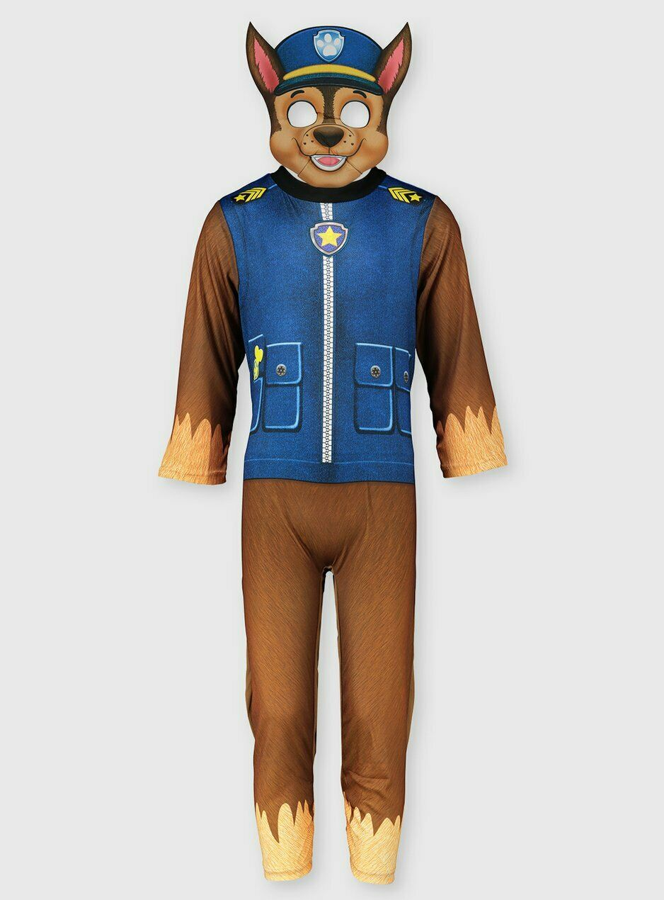 Tu Children's Official Paw Patrol Chase Fancy Dress Costume