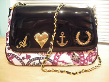 New Genuine Official Fred Perry Amy Winehouse Chain Print Satchel BNWT