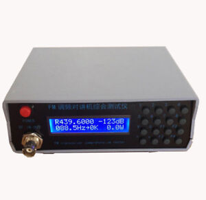 FM Power CTCSS Frequency Meter Tester Transmit receiver RF signal generator