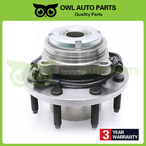 FROM-3-22-99-2004-Ford-F-250-F-350-Front-Wheel-Bearing-Hub-w-ABS-4x4-SRW-515020