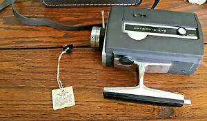Vintage Bell Howell Autoload Super 8 Model 430 Movie Camera W/Case & Filter Pin
