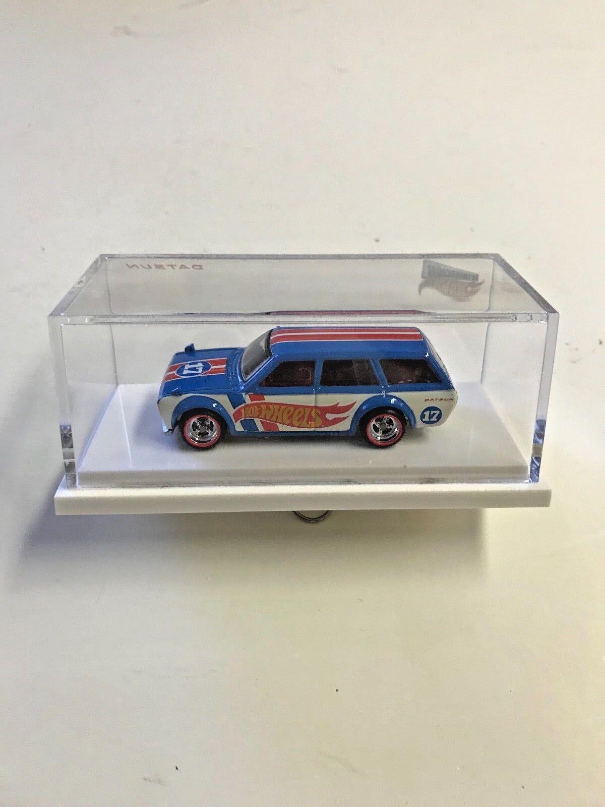 Hot Wheels  RLC Exclusive -  '2017 MEXICO '71 DATSUN blueEBIRD 510 WAGON