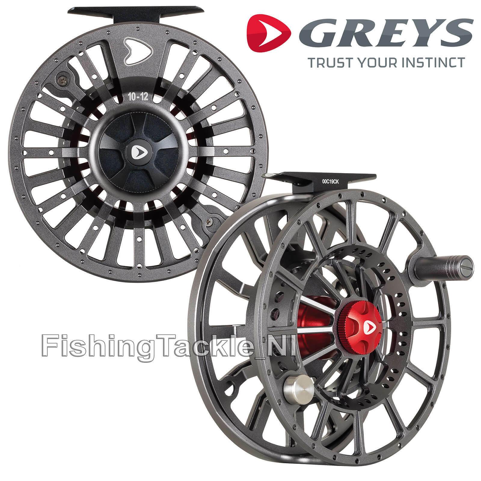 Greys GX1000 Fly Fishing Reel - Large Arbor Rulon Disc Drag Fly Reel 'NEW 2020'