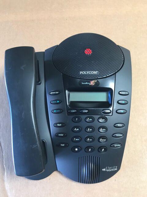 polycom soundpoint pro se 225 2 line professional conference phone rh ebay com polycom clarity soundpoint pro manual polycom soundpoint pro se-220 manual