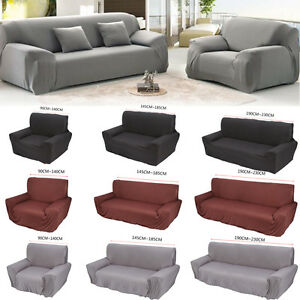 sofabez ge sofahusse stretchhusse sessel berwurf 1 3 sitzer 3 farbe li 01 ebay. Black Bedroom Furniture Sets. Home Design Ideas