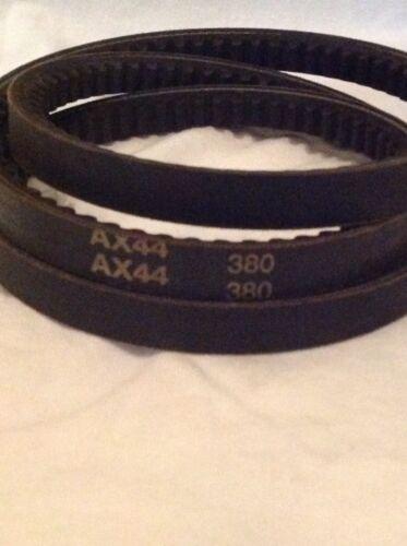 "AX 44 Cogged V Belt 4L15 1//2/"" x 46/"" Belt Outside Diameter New AX44 Belt"