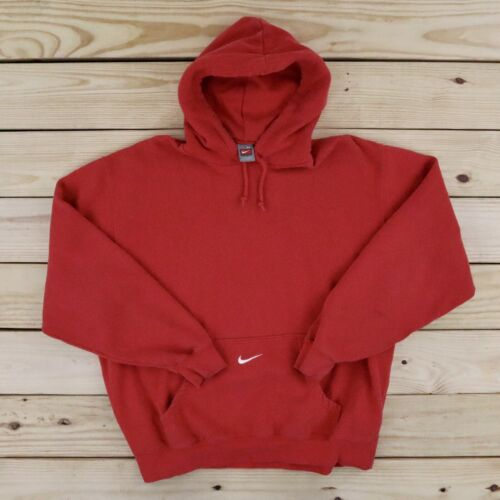 Vintage NIKE Hoodie Sweater Center Swoosh Men's X… - image 1