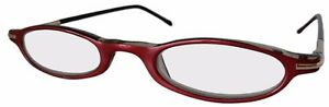 3-PAIRS-OF-PINK-READING-GLASSES-SLIM-MENU-SPECS-READERS-SPRUNG-FRAMES-CASE-NY02