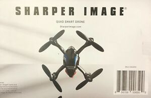 Sharper Image Quad Smart Drone Black Ebay
