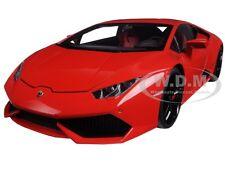 LAMBORGHINI HURACAN LP610-4 ROSSO MARS METALLIC RED 1/18 CAR BY AUTOART 74601