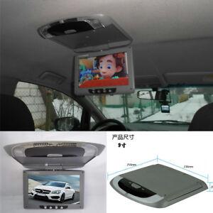 9-039-039-LCD-Car-TRUCK-Flip-Down-Roof-Mount-Monitor-TV-IR-control-Multimedia-Video