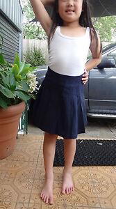 Girl-size-dark-navy-mini-pleated-skirt-for-uniform-or-casual-4-6-8-10-14-16