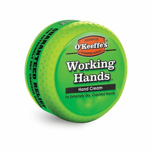 O'Keeffe's® Working Hands® Hand Cream 96g Jar - For extremely dry, cracked hand