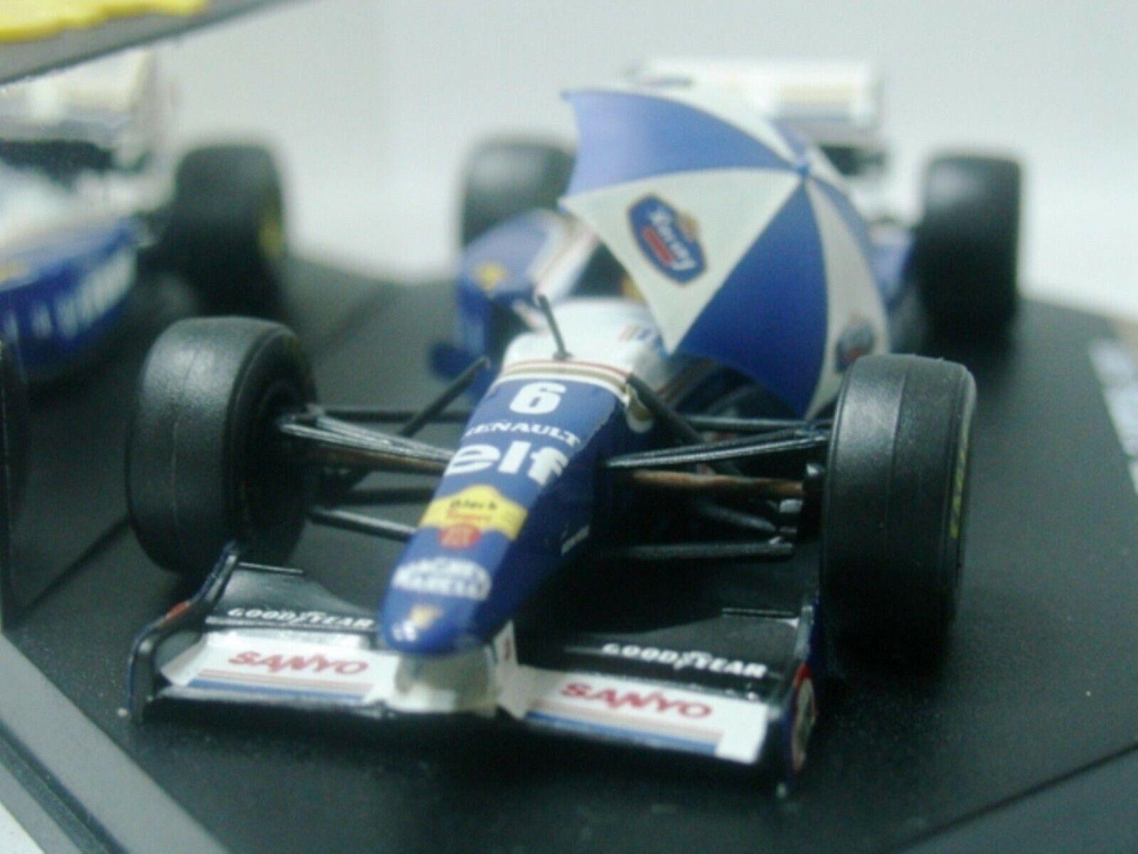 Wow extrêmement rare WILLIAMS FW17 Coulthard GP Estoril 1995 1 43 Onyx-MINICHAMPS