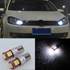 2Pcs 6SMD Error Free LED Parking City Light Fit 10-15 VW Volkswagen Jetta MK6