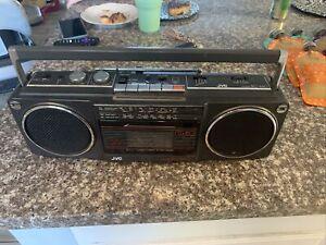 Vintage JVC RC-440 AM/FM/Shortwave Stereo Radio Cassette Tape Deck Boom-Box
