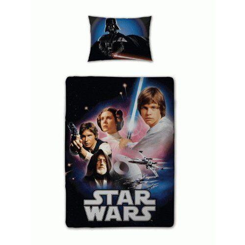"""Star Wars the Clone Wars Bettwäsche 135x200 Luc Han Solo /""""New Hope/"""" Bettgarnitur"""