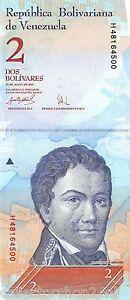 Venezuela-2-Bolivares-24-Mayo-2007-Unc-Pn-88b