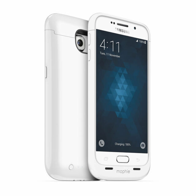 hot sale online bd4bb aabe0 mophie Juice Pack for Samsung Galaxy S6 White