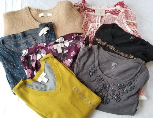 pezzi Taylor Xs T Loft Petite Lotto shirt Ann Xsp con Giacca in 0p maglione paillettes 7 ZSnFwq