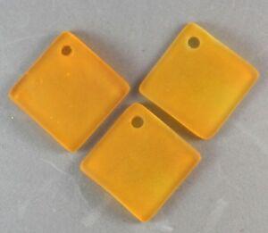 'marin' Verre Plage 22mm Bouteille Courbe Diamant Mandarine Orange Perles (8) Atexdjzo-08000844-652420175