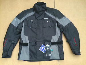 RK-SPORTS-Mens-Textile-Motorbike-Motorcycle-Jacket-Size-UK-50-034-Chest-J43