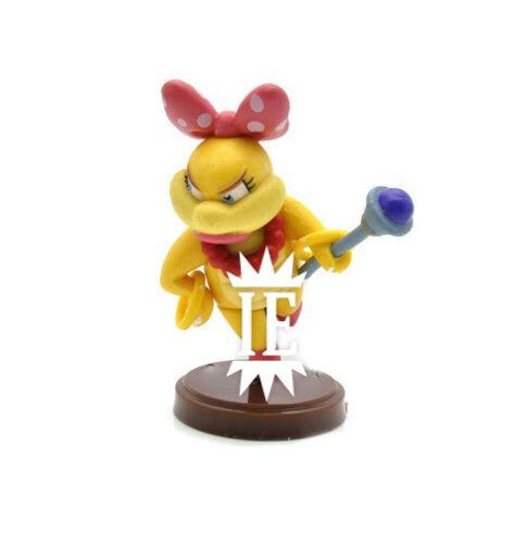 Super Mario 13 Figuren Figuren mit Ovp Bros Iggy Toad Wendy Skelopesce