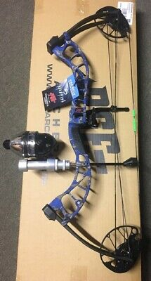 PSE D3 bluebowfishing Compound Bow fishing reel reste doigts