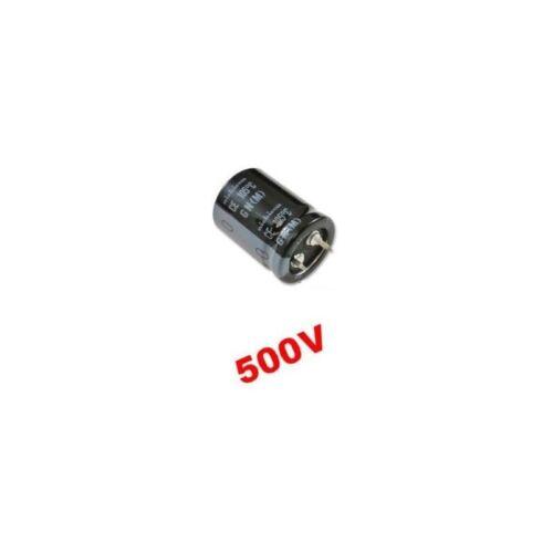 snap-in Nichicon GN 68uF 500V LGN2H680MELZ30 condensatore elettrolit