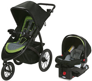 Graco Baby RoadMaster Jogger Travel System Jogging Stroller with Infant Car Seat 47406147427
