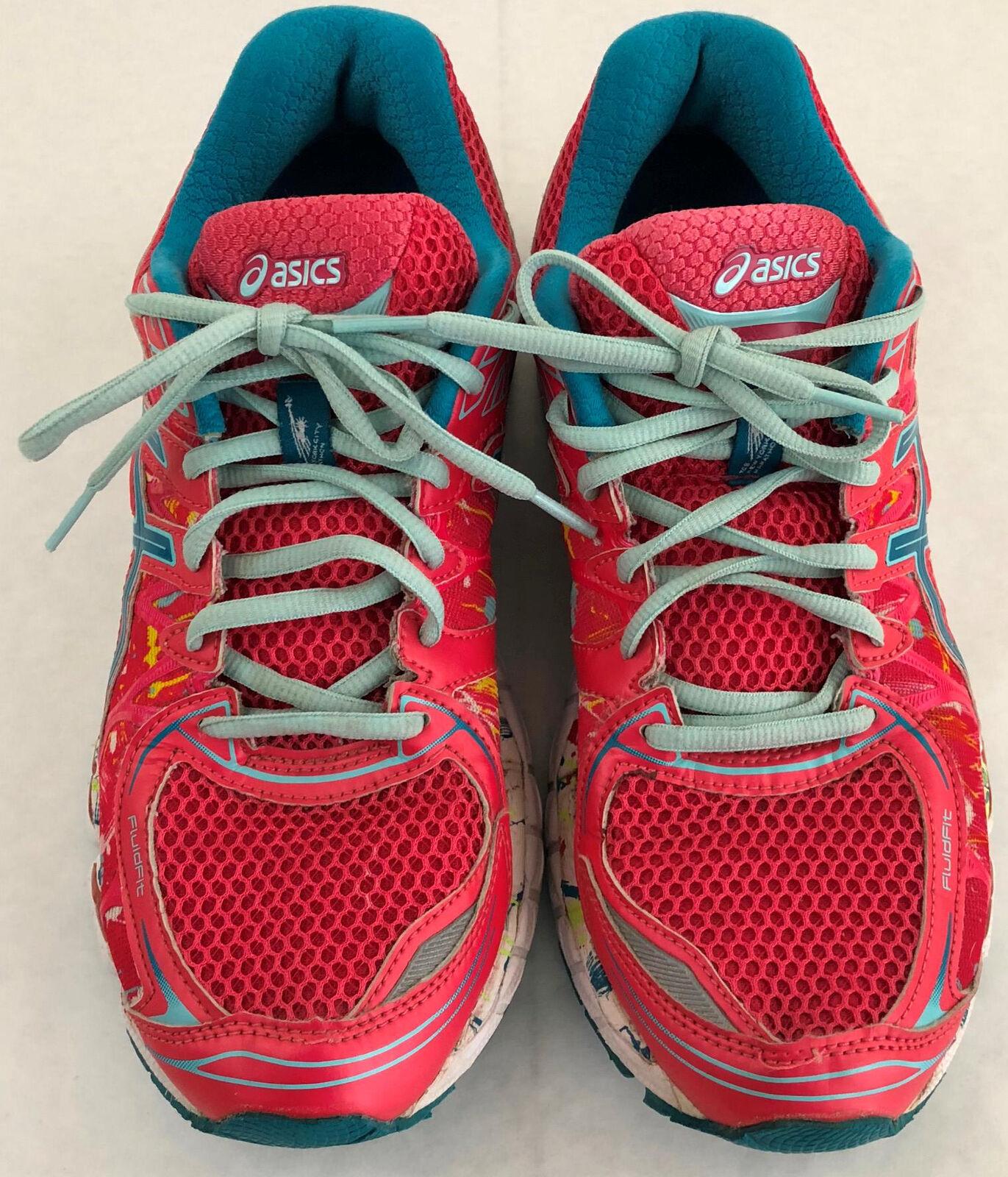 official photos fcab2 b4658 Para Mujer Asics Gel Gel Asics Nimbus 16 NYC Marathon rosado Running Zapatos  Zapatillas tamaño nos ...