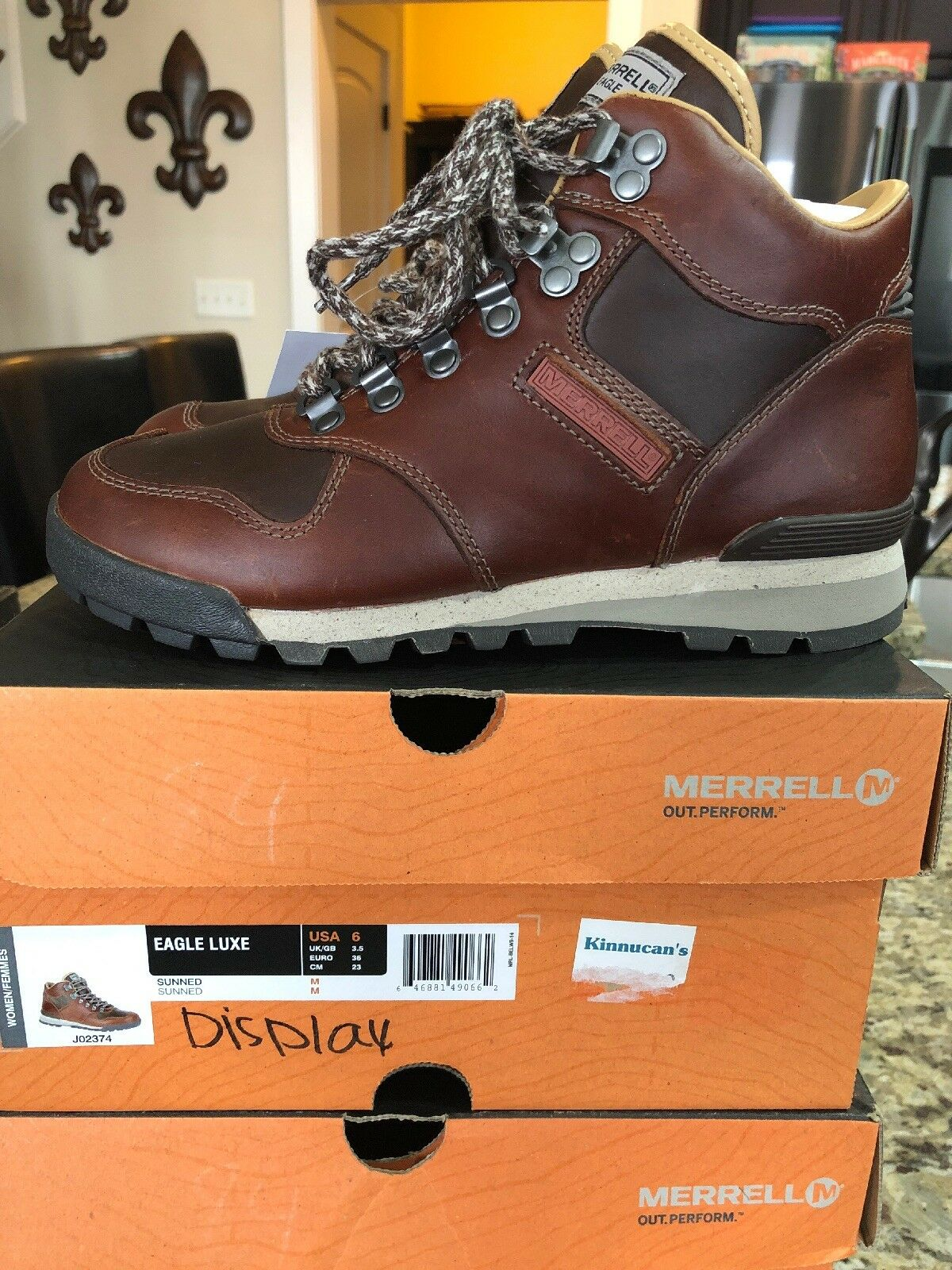 merrell size 36 inches