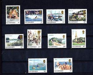 Guernsey-288-97-A-Anischten-von-Guernsey-u-a-Torteval-Kirche