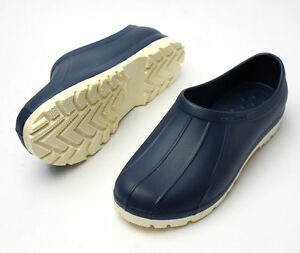 Safety Non Slip Navy Shoes Women