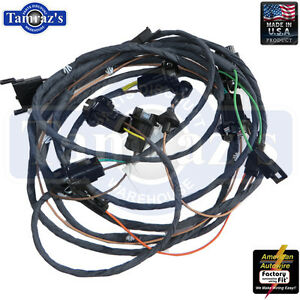 chevelle wire harness kit 1966 impala sport rear body light wiring harness - coupe u.s. made new | ebay