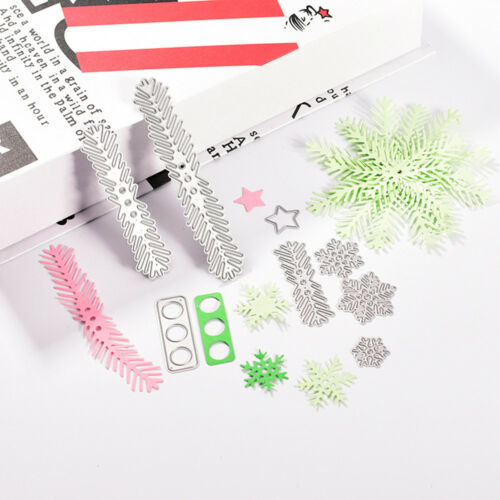 Christmas DIY Cutting Dies Metal Stencil Scrapbooking Album Paper Card Embossing
