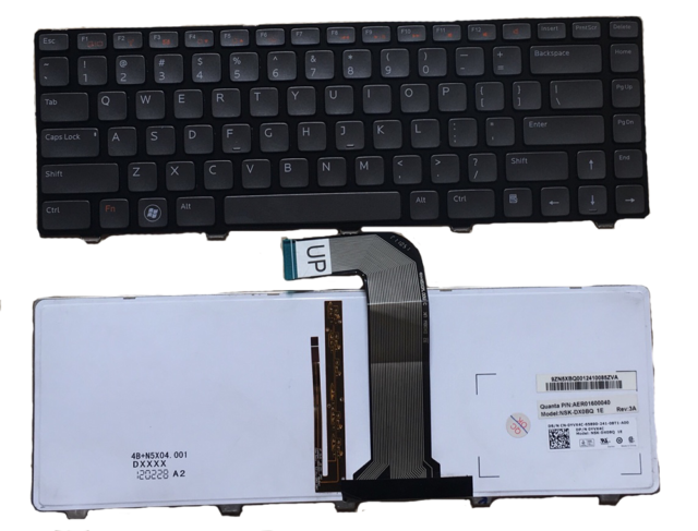 New Genuine Dell XPS 15 L502X Inspiron 14z N411Z 15 3520 Laptop Keyboard X38K3