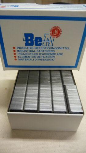 Tackerklammern Heftklammer Industrieklammern Druckluftklammern BeA Serie 80