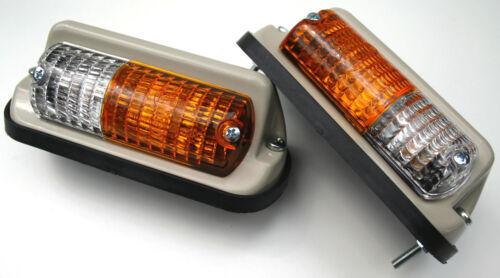 Satz Blink und Positionsleuchten Leuchten Lampen Eicher Traktor Schlepper
