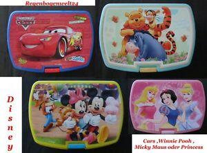 Disney-Kinder-Brotdose-Fruehstuecksdose-Brotbox-Lunchbox-Dose-Kindergarten-Schule