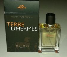 Hermes Terre D'Hermes Pure Parfum Spray For Men 0.42 oz / 12.5 ml Mini NIB