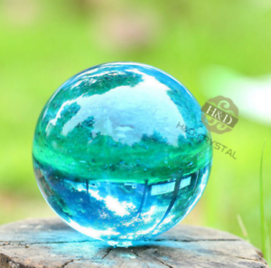 40mm-Asian-Rare-Natural-Quartz-Sea-Blue-Magic-Crystal-Healing-Ball-Sphere-Stand
