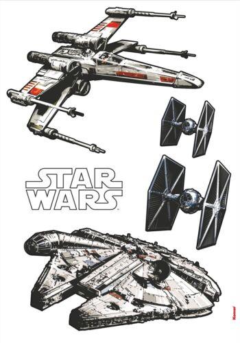Komar Star Wars Wandsticker 14723 Spaceships Wandtattoo selbstklebend