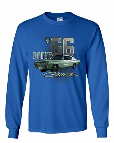 Dodge Charger /'66 Long Sleeve T-Shirt American Classic Muscle Car Tee
