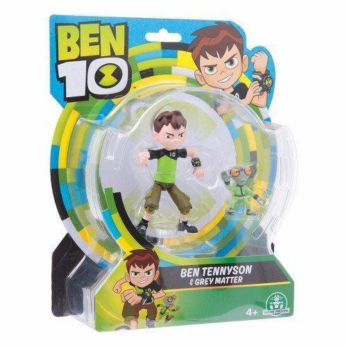 Ben 10 Ben Tennyson /& Grey Matter Basic Figure