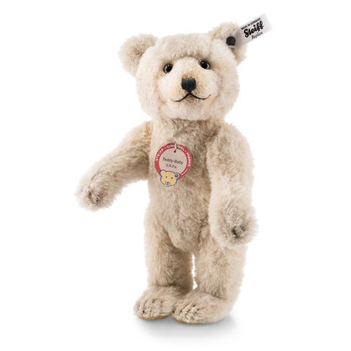 Steiff Edizione Limitata Teddy Baby REPLICA 1929 EAN 403293 25cm + scatola Alpaca Nuovo