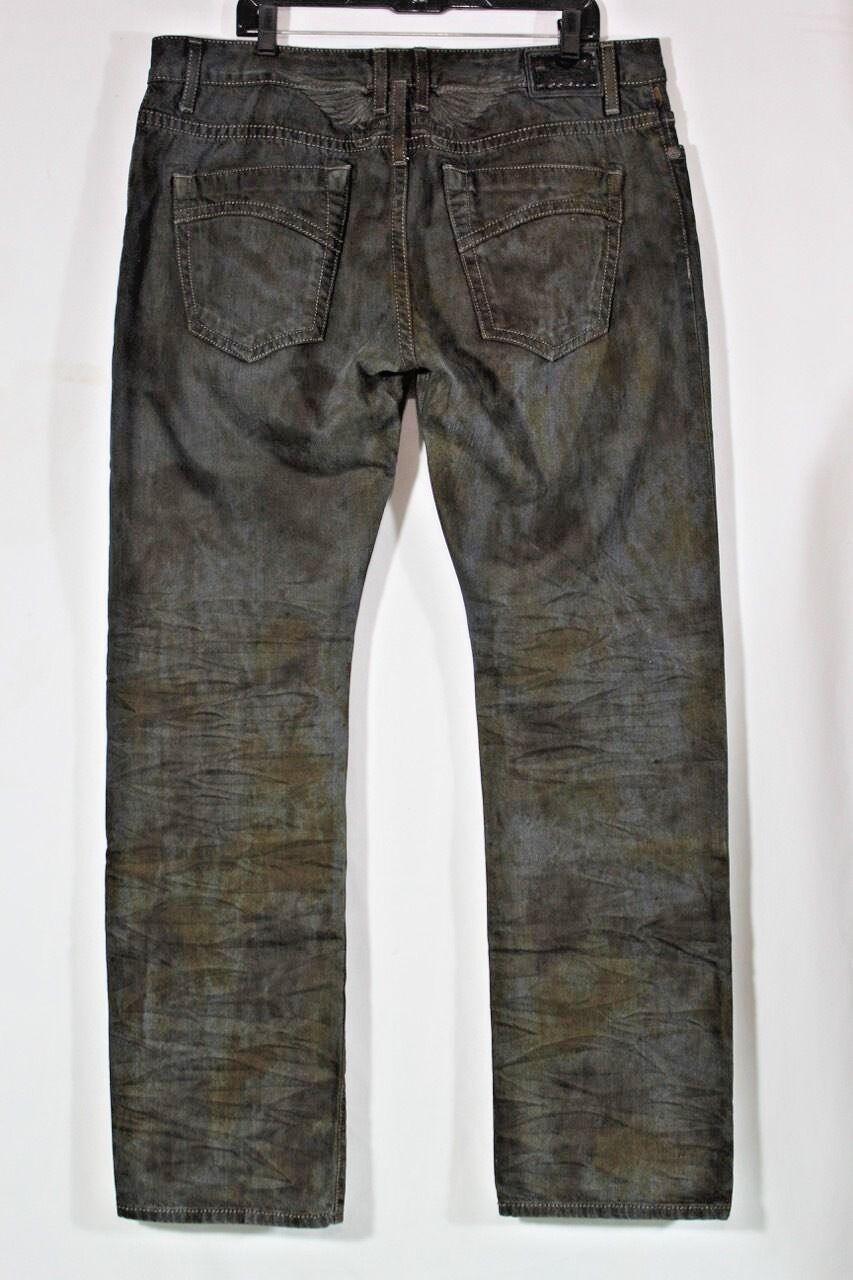 Robin 'S   Jeans Neu Herren Gerades Bein Sz 40 Acid Wash Vintage Schwarz Tarnung  | Kostengünstig  | Verkaufspreis  | Sonderaktionen zum Jahresende